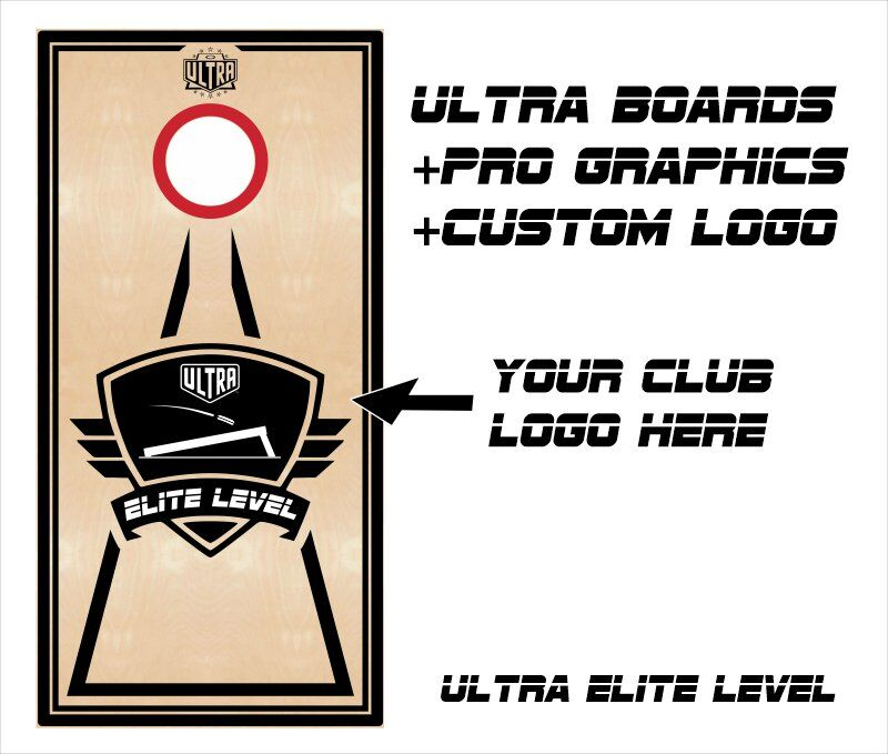 Ultra Elite Boards Pro Graphics Custom Logo
