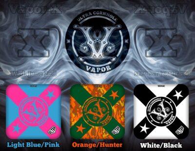 Vapor LightBlue-Pink Orange-Hunter White-Black