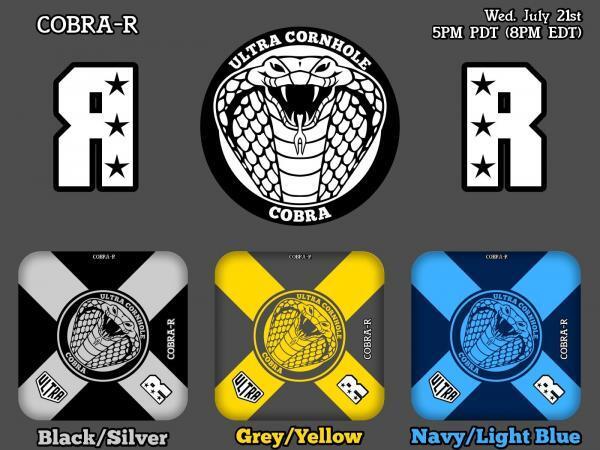 Cobra-R Release Black-Silver Grey-Yellow Navy-Light Blue