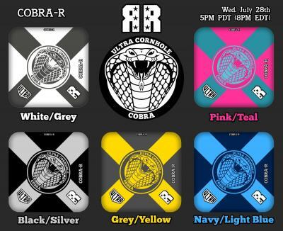 Cobra-R Release White Grey and Pink Teal