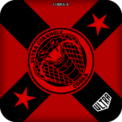 Ultra Cobra-X Red and Black