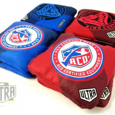 Ultra Cobra-X ACO Certified Bags. The best ACO and ACL certified cornhole bags.