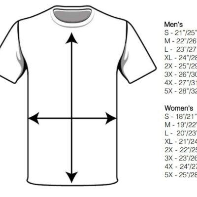 Ultra Jersey Size Chart