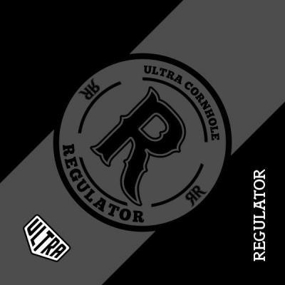Black Ultra Regulator Cornhole Bag