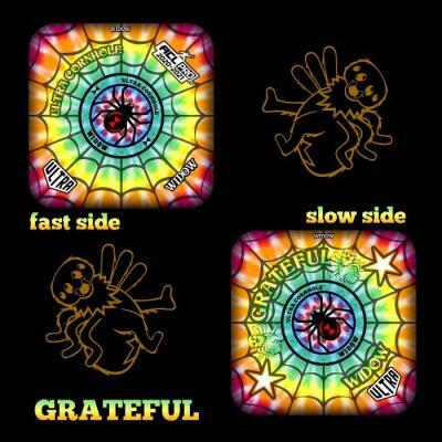 Grateful Widow fast and slow side