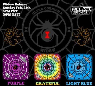 Ultra Widow Pro Series Purple Grateful Light Blue