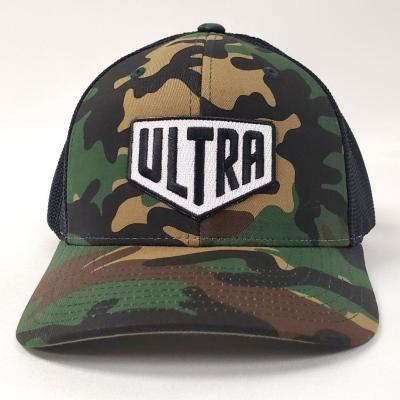 Ultra Cornhole Trucker Hat curved flexfit - front