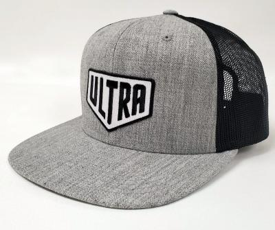 Ultra Cornhole Flat Billed Hat in Gray