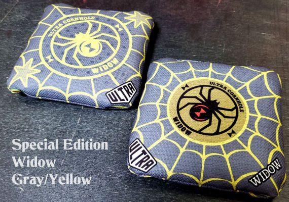 Ultra Cornhole Widow Gray and Yellow