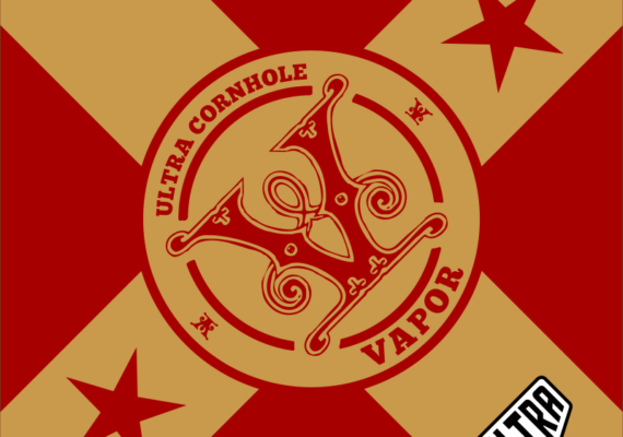 Vapor Red and Gold
