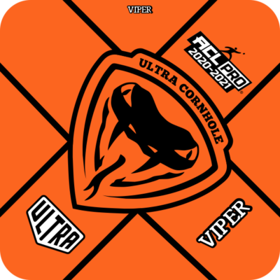 Ultra Cornhole Viper Orange ACL Pro Series Approved