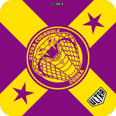 Cobra Purple and Yellow