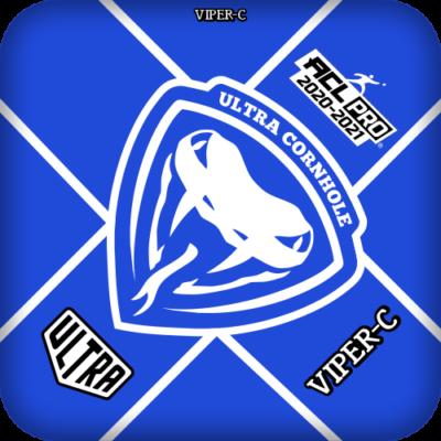 Ultra Cornhole Viper-C Blue ACL Pro Series