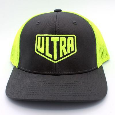 Ultra Trucker Hat Charcoal/Yellow