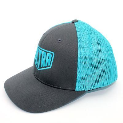 Ultra Trucker Hat Charcoal/Blue