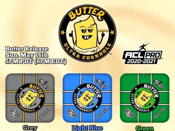 Butter Cornhole Bag Release