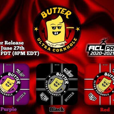 Butter Release Purple Black Red