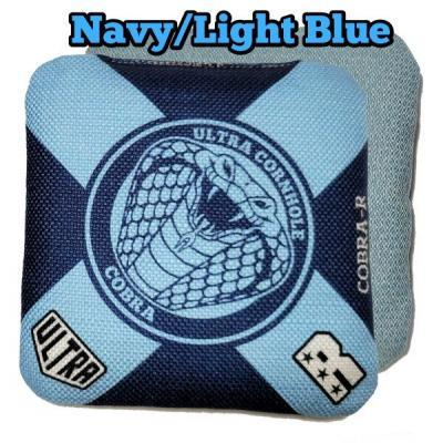 Cobra-R Navy and Light Blue front and back