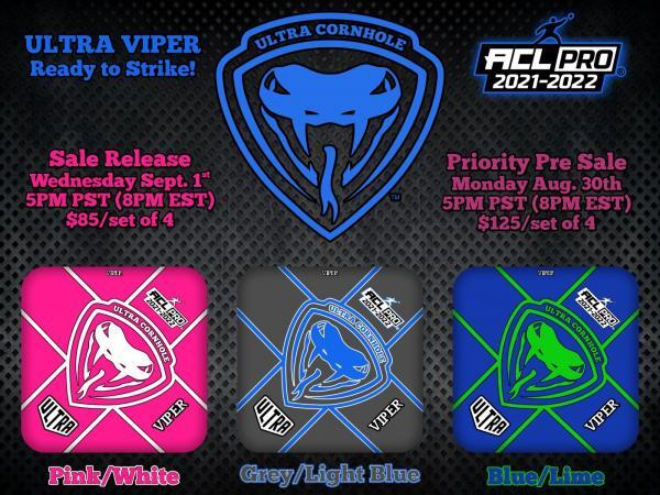 Ultra Viper Pro Series Pink Grey Blue